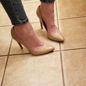 Aldo Fritted Nude Pump